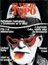 Portada d'un exemplar de la revista El Viejo Topo