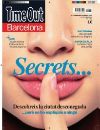 Portada d'un exemplar de Time Out Barcelona
