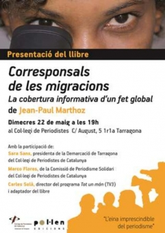 El llibre es presenta a Tarragona el 22 de maig