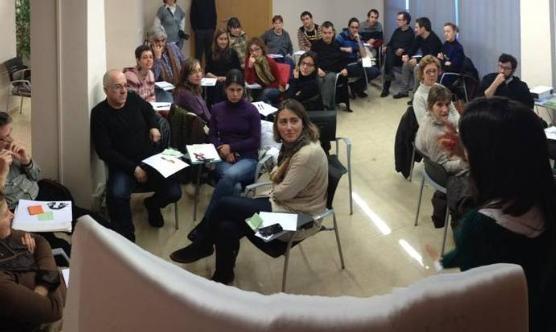 Els assistents al taller d'innovació