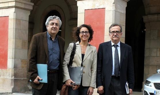 Ramon Espuny, Silvia Heras, Josep Maria Martí