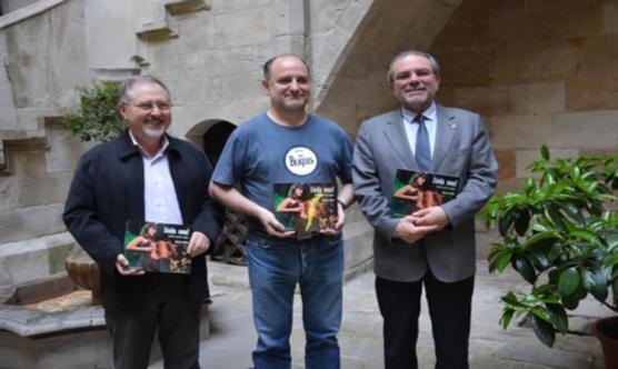 D'esquerra a dreta: Joan Cal, Javier de Castro i Joan Reñé. Foto: IEI