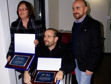 Joan Anfruns, entre els periodistes Pilar Rodriguez i Jordi Trilla
