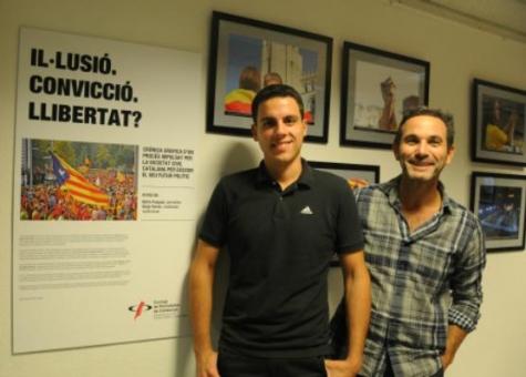 Sergi Ferrés (esquerra) i Nofre Pasqual