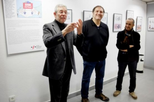 D'esquerra a dreta, Gonçal Mazcuñán, Manel Fontdevila i Jaume Capdevila, Kap