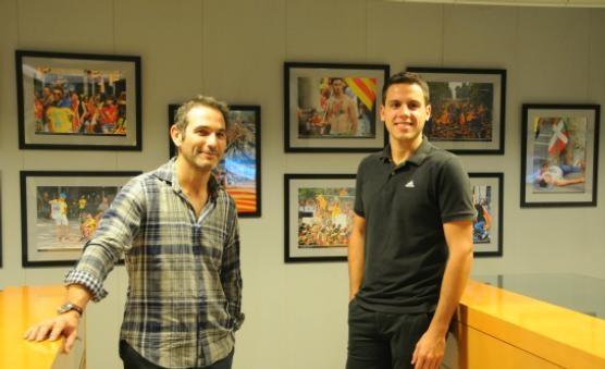 Nofre Pasqual (esquerra) i Sergi Ferrés
