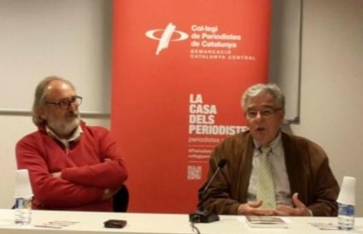 Jaume Rodri (esquerra) i Constantí Mas. Firma foto: Elisabeth Ribalta
