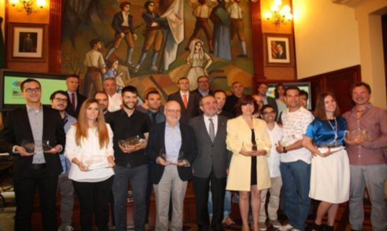 Guanyadors i jurat del 26è Pica d'Estats. Foto: Diputació de Lleida