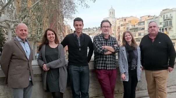 La Junta de Girona del Col·legi de Periodistes.