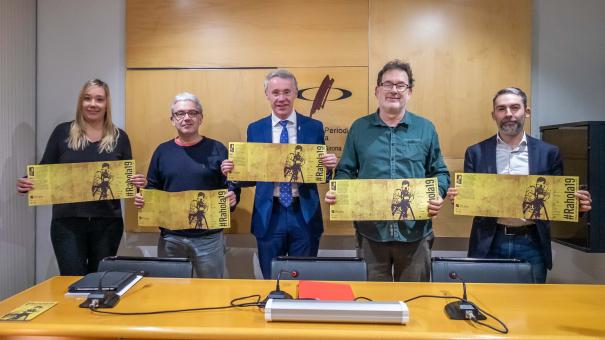 Sílvia Sanahuja, Ramon Girona, Albert Piñeira, Joan Ventura i Narcís Sastre.