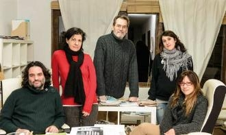 Redacció d'Alternativas Económicas (Foto: Sergio Ruiz)