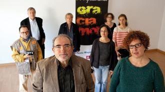 Els diferents membres de GraciamonTV. Foto: Oriol Clavera