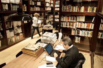El Centre de Documentació, un dels serveis col·legials. Foto: Sergio Ruiz