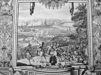 Un gravat sobre la Guerra de Successió