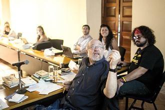 Imatge d'un dels tallers que organitza la fundació creada pel premi Nobel. Foto: Joaquín Sarmiento/FNPI