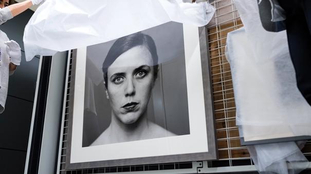 Una de les fotografies –obra d'Humberto Rivas– que formen part de l'arxiu fotogràfic del MNAC.