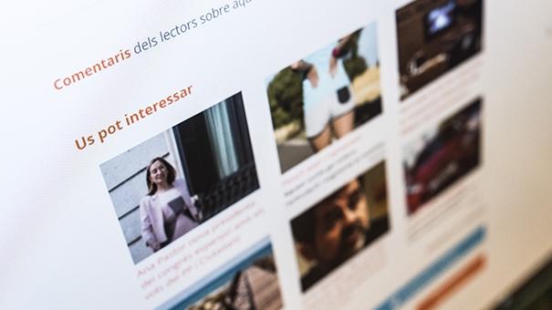 Els mitjans digitals gestionen els comentaris de l'audiència de diferents maneres.