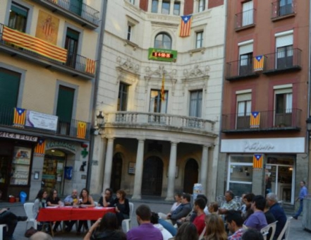 Acte de balanç dels primers 100 dies de govern de la CUP, A Berga (Foto: Arxiu/Regió7 /D.C.)