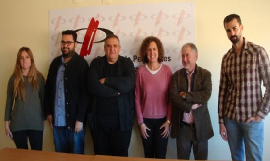 Carla Vilaseca (Balaguer TV), Alberto Lijarcio (Mollerussa TV), RaFa Gimena, Carolina Gili (TV3 Lleida), Joan Cal (Grup Segre) i Francesc de Dios (Teleponent).