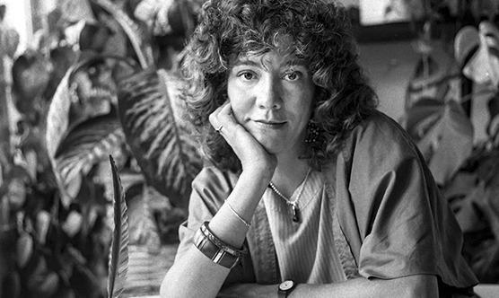 Montserrat Roig en una fotografia presa als anys 80. (Foto: Pepe Encinas)