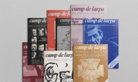 La revista Camp de l'Arpa va desaparèixer després de deu anys d'existència.