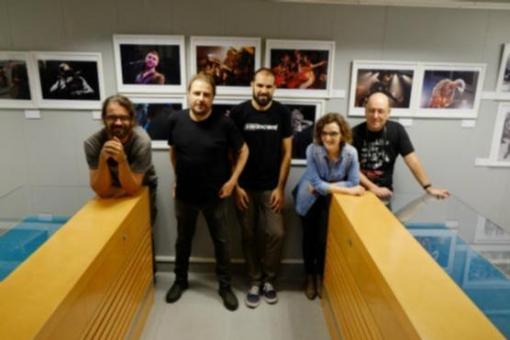 Natxo Tarrés, Jordi Vidal Sabata, Oscar García, Eric Altimis i Marta Pich (Foto: Xavier Serrano)