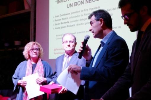 Igualada va acollir l'any passat el lliurament anual dels Premis Gabinets de Comunicació del CPC.