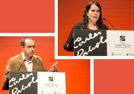 Carles Ribera i Laura Teixidor. Foto: Martí Artalejo.