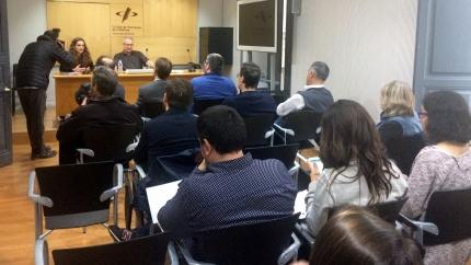 anals i Salvador Alsius, en la presentació del nou Codi Deontològic a Girona