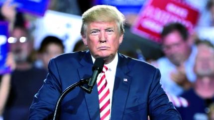 Donald Trump en un acte durant la campanya electoral a Arizona