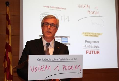 Josep Fèlix Ballesteros. Foto: Ajuntament de Tarragona