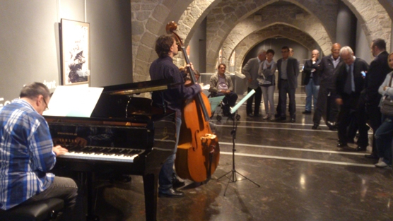 Actuació de Carles Cases Trio