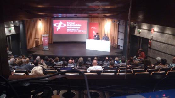 Vista general de la conferència de Carles Prats