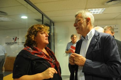 Teresa Carreras  i Gonzal Mazcuñán.