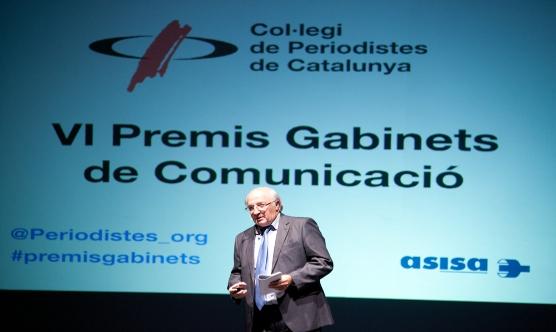 Josep Moya-Angeler va intervenir amb una ponència sobre comunicació.