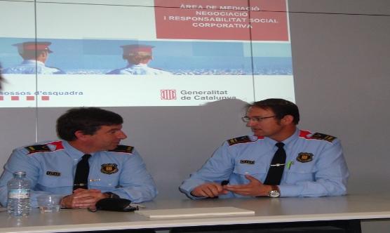 Xavier Porcuna i Josep Ll. Rossell.