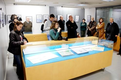 Perspectiva de la sala d'exposicions