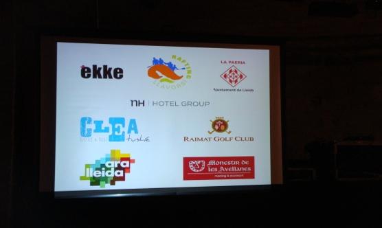 Empreses col·laboradores de la Festa.