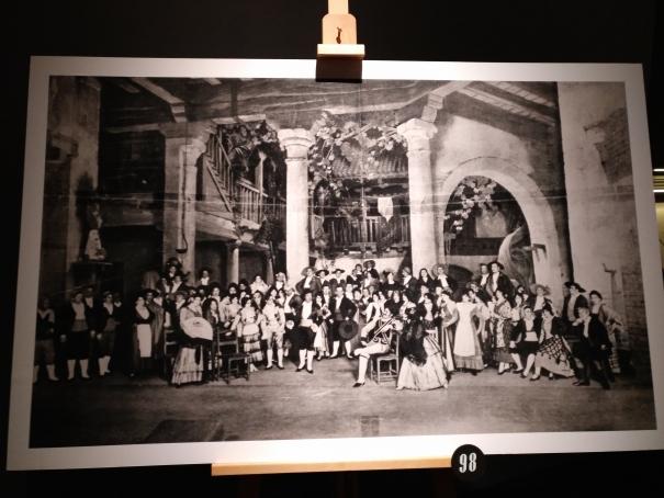 Foto de la representació de 'Goyescas al Metropolitan Opera House de Nova York' l'any 1916