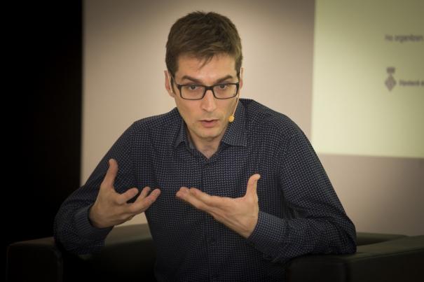 El periodista Carles Prats va explicar la realitat dels refugiats