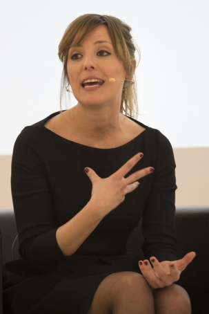 L'assessora d'estètica política Patrycia Centeno