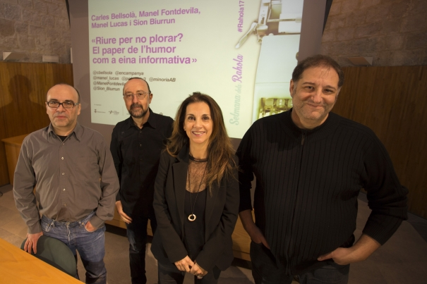 Carles Bellsolà, Manel Lucas, Sion Biurrun i Manel Fontdevila