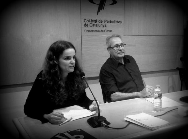 Laura Fanals i Salvador Alsius.