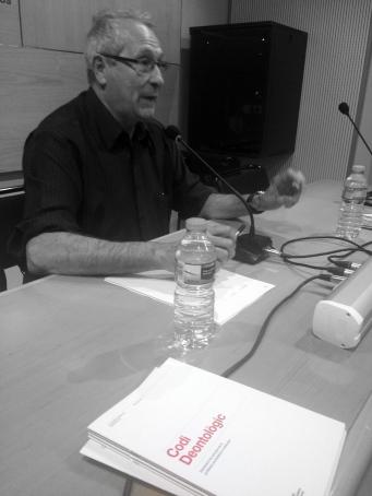 Salvador Alsius va parlar del nou Codi Deontològic.