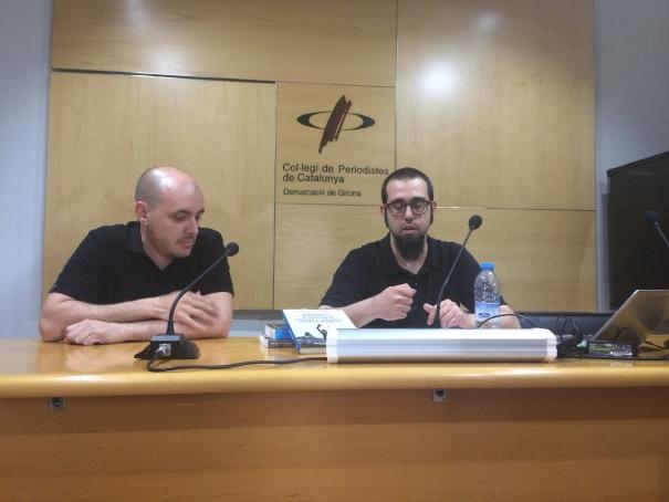 Maxi Fuentes i Albert Caballero.