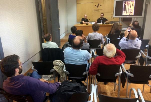 La sala Miquel Diumé va acollir la conferència.