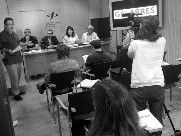 La presentació es va fer a la sala Miquel Diumé de Girona.