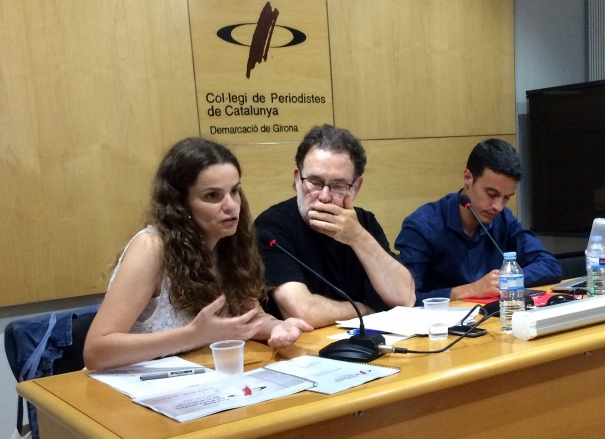 Laura Fanals, Joan Ventura i Xevi Masachs.