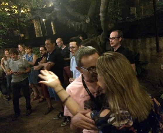 IX Sopar de Periodistes de Girona a Can Veí.