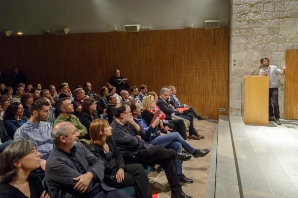 L'autor de les Mosques 2017, Víctor Masferrer.
